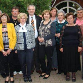 Vizsy Ferenc író látogatása