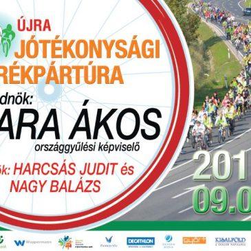 Jótékonysági kerékpártúra 2016-ban is