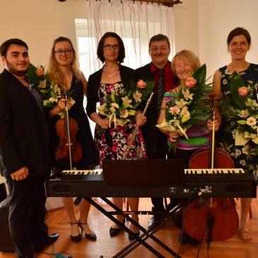 Nálunk járt az Európa Koncert Szalonzenekar